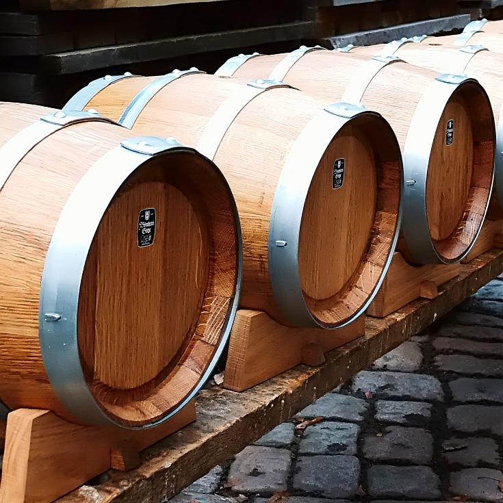Holzfass -  Rund - 12 Liter