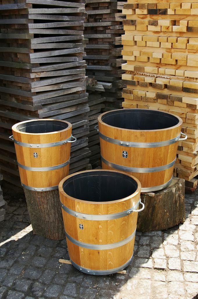 Holzpflanzkübel - Pflanzkübel Holz - Blumenkübel