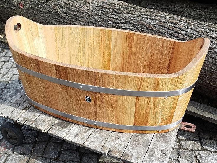 Holzbadewannen - Kinderbadewanne - Eiche