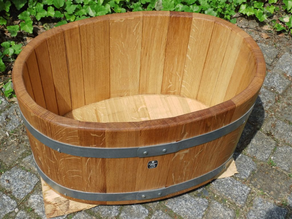 Holzbadewannen - Wasserbottich