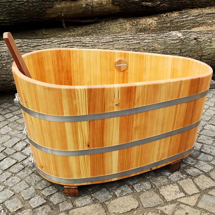 Holzbadewannen - Saunabottich