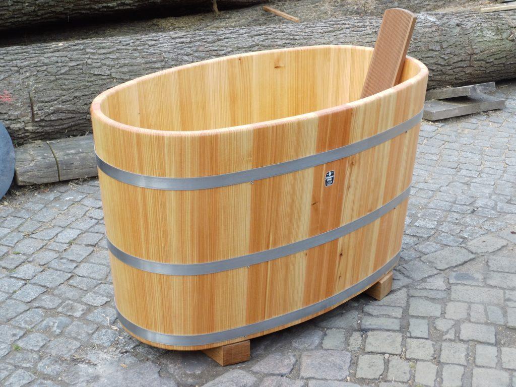 Holzbadewannen - Badebottich - Tauchbottich Lärche