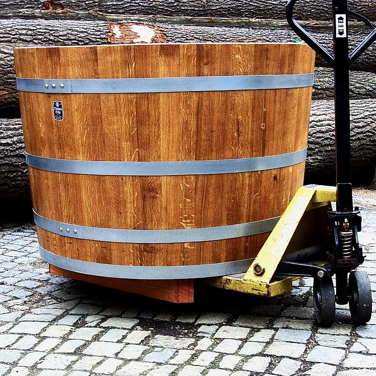 Holzpflanzkübel - Pflanzkübel Holz - Transportunterlagen