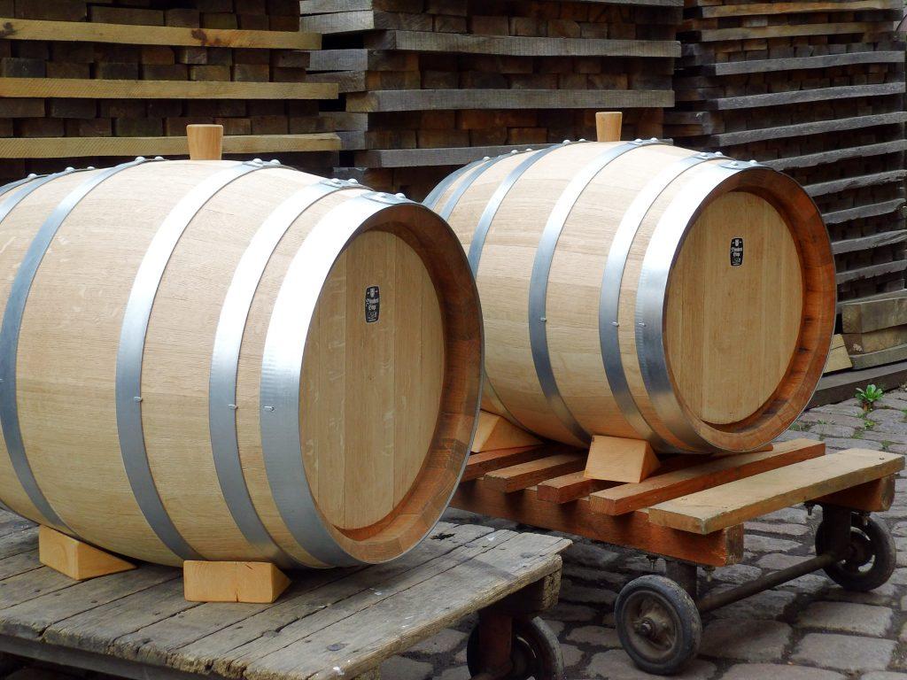 Holzfass Rund 100 Liter