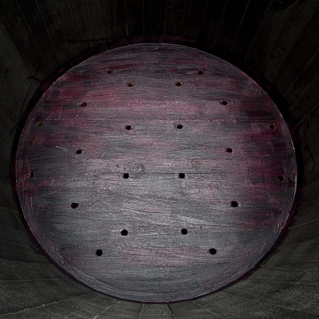 Holzpflanzkübel - Pflanzkübel Holz - Innenbereich eines Kübels