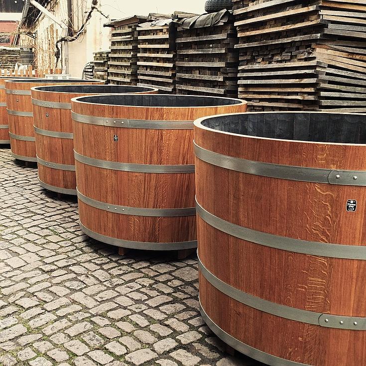 Holzpflanzkübel - Pflanzkübel Holz - Pflanzbottiche